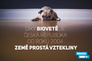 Díky Biovetě je Česká republika již 17 let bez vztekliny