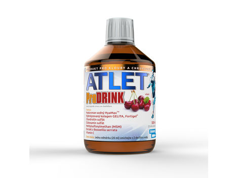 Obrázek produktu - ATLET prodrink 500 ml doplněk stravy